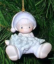 Precious Moments , Don't Let The Holidays Get You Down Ornament