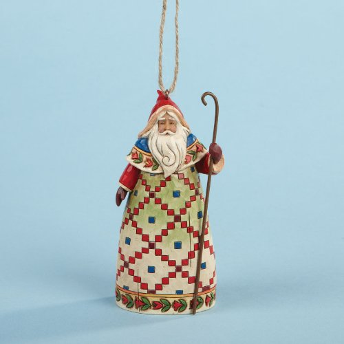 "Jim Shore ""Santa with Cane"