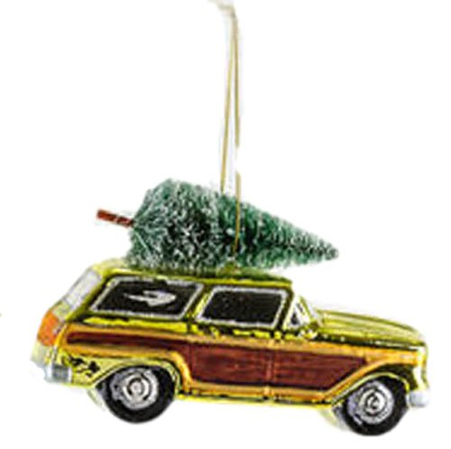 One Hundred 80 Degrees Vintage Woody Sisal Tree Ornament (Green)