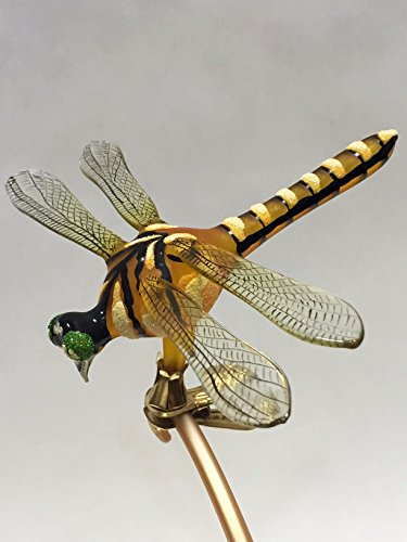 Ornaments to Remember: DRAGONFLY Christmas Ornament (Yellow/Black)