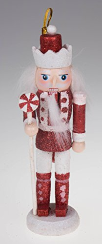 Christmas Red, White, and Green Nutcracker Ornaments Variety 5 Pack – 5.5″ Tall