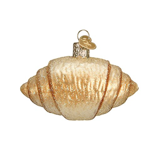 Old World Christmas Croissant Glass Blown Ornament