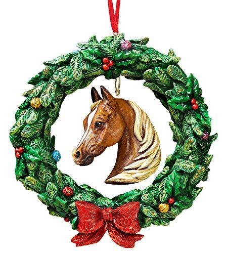 Breyer Equestrian Wreath Ornament