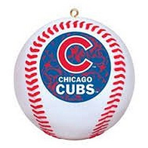 MLB Offically Licensed Chicago Cubs Replica Baseball Ornament