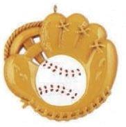 MLB Baseball Mitt Personalized Christmas Tree Ornament