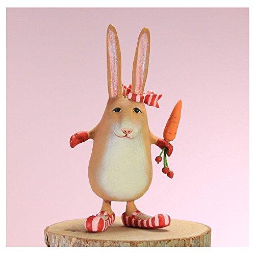 Patience Brewster Easter Home Decor Mini Rebecca Rabbit Ornament
