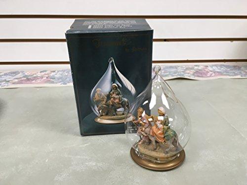 Fontanini Blown-Glass Ornament-Flight Into Egypt-56243-Roman Inc.