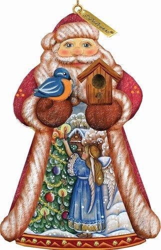 G. Debrekht Santa Trim A Tree Ornament, 5″