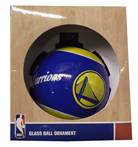 Forever Collectibles NBA, NFL, MLB and NHL Glass Ball Ornaments (Golden State Warriors)
