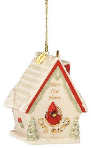 "Lenox 2013 ""Bless Our Home"" Birdhouse Ornament"