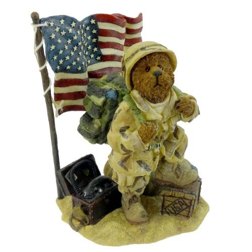 Boyds Bears Resin Mcbruin To Serve With Honor Usa Military 1E – Resin 5.50 IN