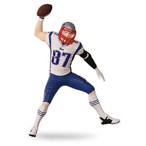 New England Patriots Christmas Ornament Rob Gronkowski Football Legends #22 Hallmark Keepsake Ornament