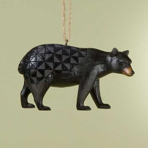 Jim Shore Black Bear Ornament