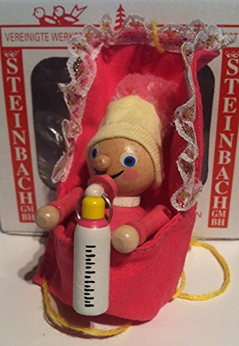 Steinbach Baby Ornament, Boy or Girl Color: Pink