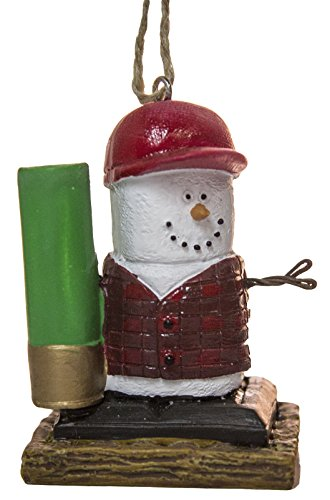S'Mores Shotgun Shell Hunter Christmas/ Everyday Ornament