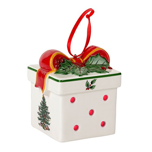Spode Christmas Tree Ornament, Gift Box