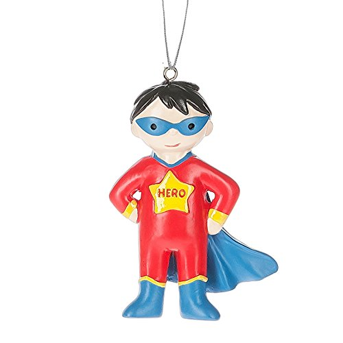 Boy Super Hero Ornament