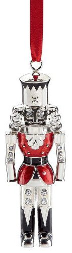 Lenox Nutcracker Soldier Metal Ornament