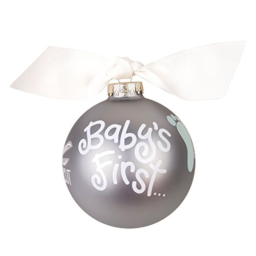 Coton Colors Baby's First Glass Ornament