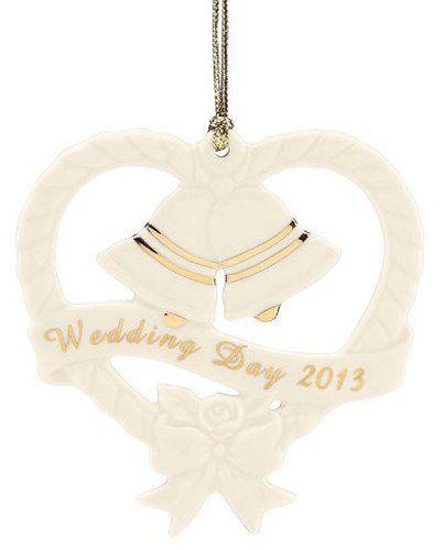 Lenox 2013 Wedding Bells Ornament
