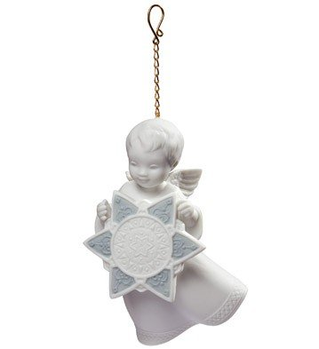 ANGEL WITH STAR – ORNAMENT Lladro Porcelain