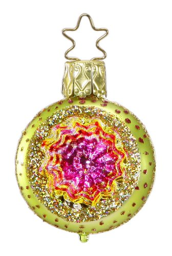 Christmas Twinkles – Lemon Lime, #1-014-13c, by Inge-Glas of Germany