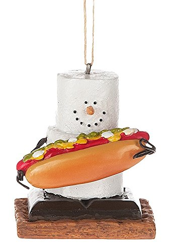Midwest CBK S'mores with Hotdog Holiday Christmas Ornament