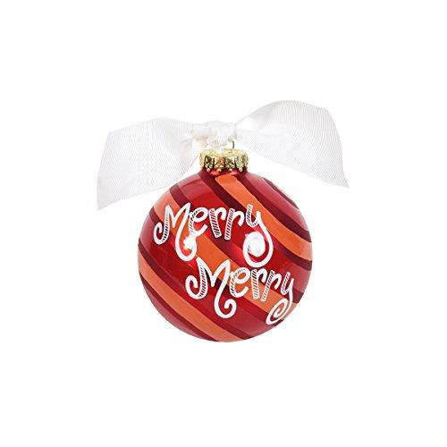 Coton Colors Merry Mint Glass Ornament