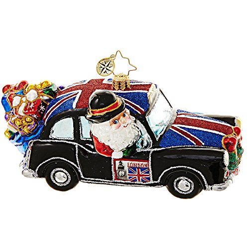 Christopher Radko Jolly Good Ride Christmas Ornament