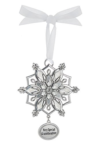 Ganz Snowflake Ornament – Very Special Granddaughter