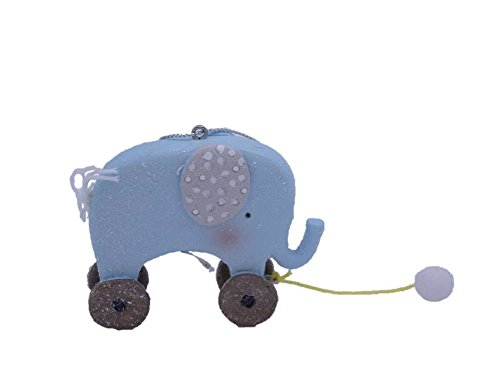 Elephant Animal Pull Toy Ornament – Gift Boxed