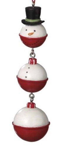 Snowman Bobber Christmas Ornament