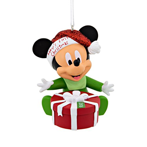 Mickey Mouse Baby's 1st Christmas Disney 2016 Christmas Ornament by Hallmark