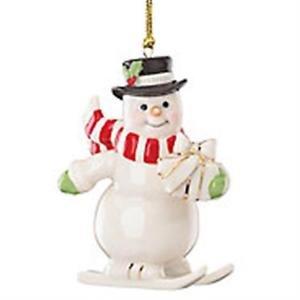 Lenox Merry Little Christmas Snowman Ornament