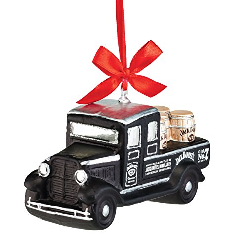 Department 56 Jack Daniels From Delivery Truck Ornament 2.01 In