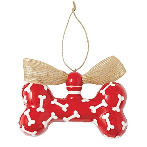 Mud Pie Dog Bone Ornament