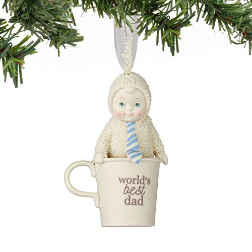 Snowbabies World's Best Dad Ornament