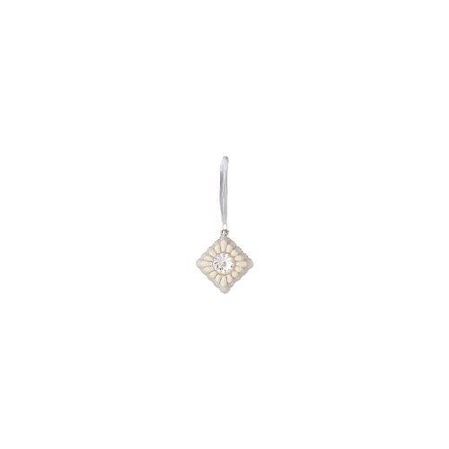 Diamond Shape Glass Ornament by Sage & Co.