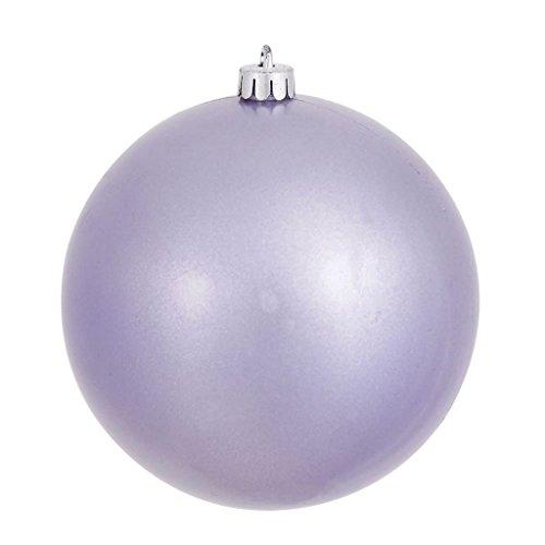Vickerman 310496 – 4.75″ Lavender Pearl Finish Ball Christmas Tree Ornament (N591236P)