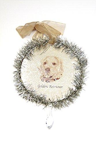 Rudolph & Me Dog Christmas Ornament – Golden Retriever