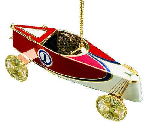 Baldwin Soap Box Derby Racer Ornament