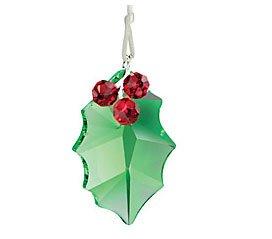 Swarovski Crystal Holly Ornament