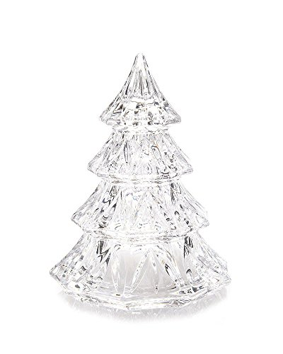 Marquis by Waterford 3.5″ Crystal Christmas Tree Decorative Accent