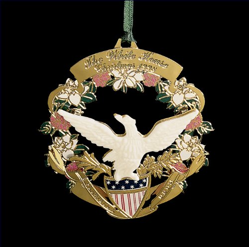 1998 White House Christmas Ornament, The American Bald Eagle and Shield