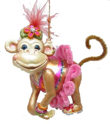 December Diamonds Blown Glass Ornament – Miss Monkey