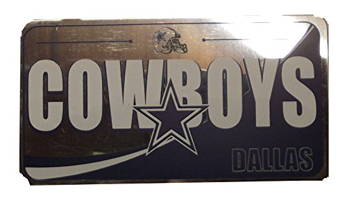 Forever Collectibles NFL Team License Plate Ornaments (Cowboys)
