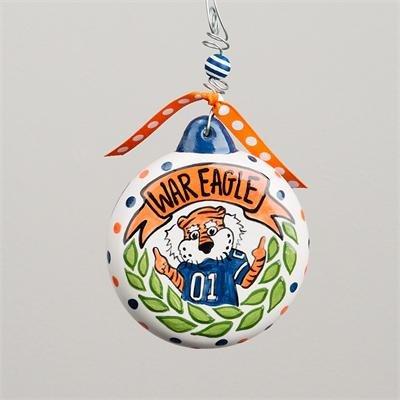 Collegiate Puff Ornament (Auburn)