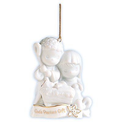Precious Moments God's Precious Gift Nativity Ornament