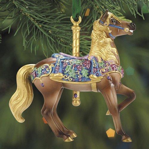 Renaissance Stander Carousel Ornament