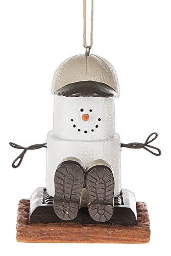 Midwest CBK S'mores with Hiking Boots Holiday Christmas Ornament